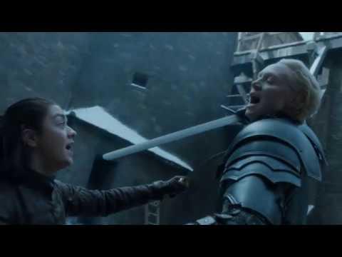 Download Game Of Thrones - Il Trono Di Spade - Arya vs Brienne (7x04)
