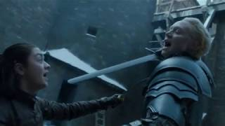 Game Of Thrones - Il Trono Di Spade - Arya vs Brienne (7x04)