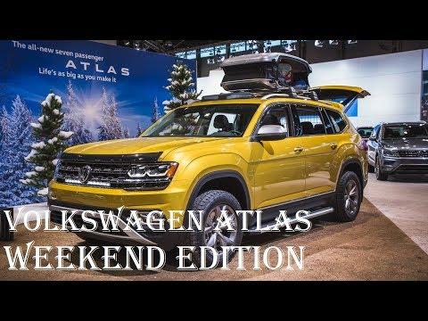 2018 Volkswagen Atlas Weekend Edition - Interior, Towing Capacitiy - Specs Reviews | Auto Highlights