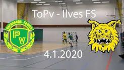 4.1.2020 ToPv - Ilves FS Futsal-Liiga Maalikooste