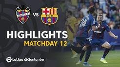 Highlights Levante UD vs FC Barcelona (3-1)