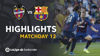 Highlights Levante UD vs FC Barcelona (3-1)