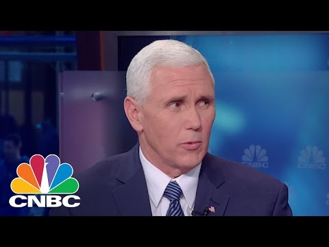Governor Mike Pence: Donald Trump Will End Pay To Play Politics | Squawk Box | CNBC