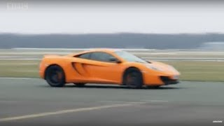 Michael Fassbender and The Stig in a McLaren - Top Gear - BBC