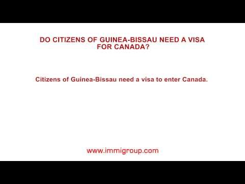 Do citizens of Guinea-Bissau need a visa for Canada?