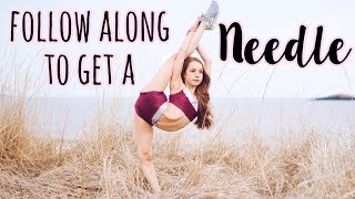 How to do a Needle / Straight Leg Scorpion