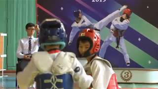 Спорт. Таэквондо WT. Открытый чемпионат Бишкека (26.05.19)