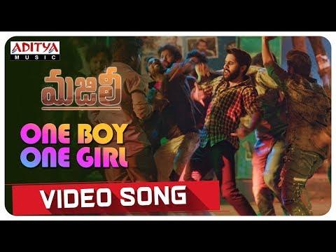 One Boy One Girl Video Song|| MAJILI Video Songs || Naga Chaitanya, Samantha, Divyansha Kaushik