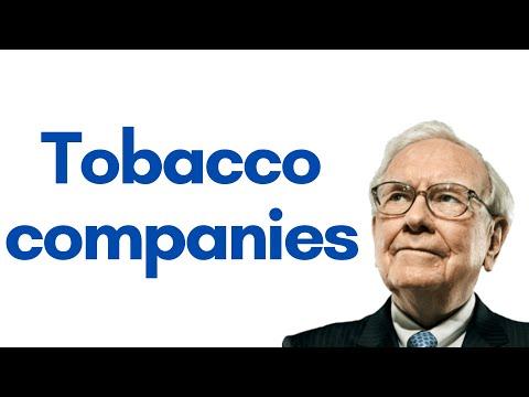 Warren Buffett on investing in Tobacco companies (1997)
