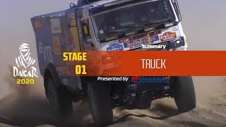 Dakar 2020 - Stage 1 (Jeddah / Al Wajh) - Truck Summary