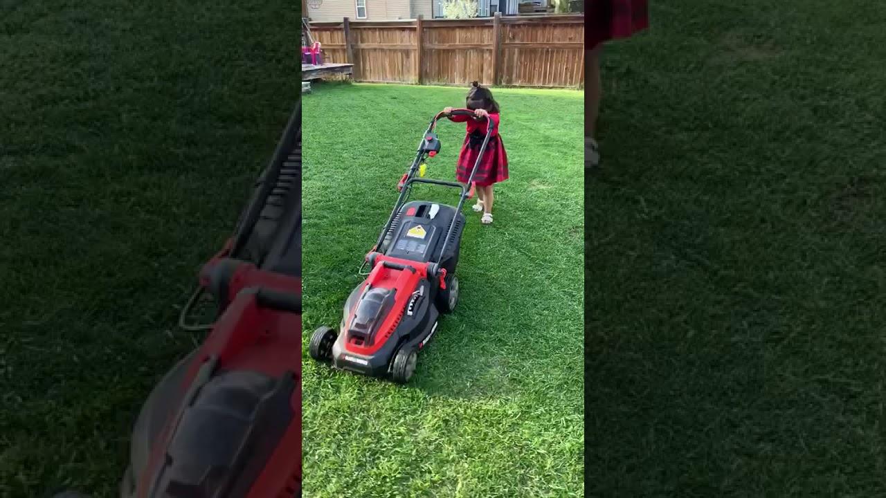 The Lawnmower Woman - YouTube