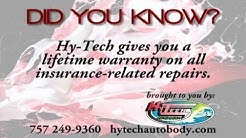 "Hy Tech Auto Body  ""Auto Insurance"" Newport News, Hampton, York County, Williamsburg, Gloucester, VA"