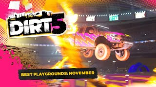 DIRT 5 | INCREDIBLE Arenas! | Playgrounds Of The Month | November 2020