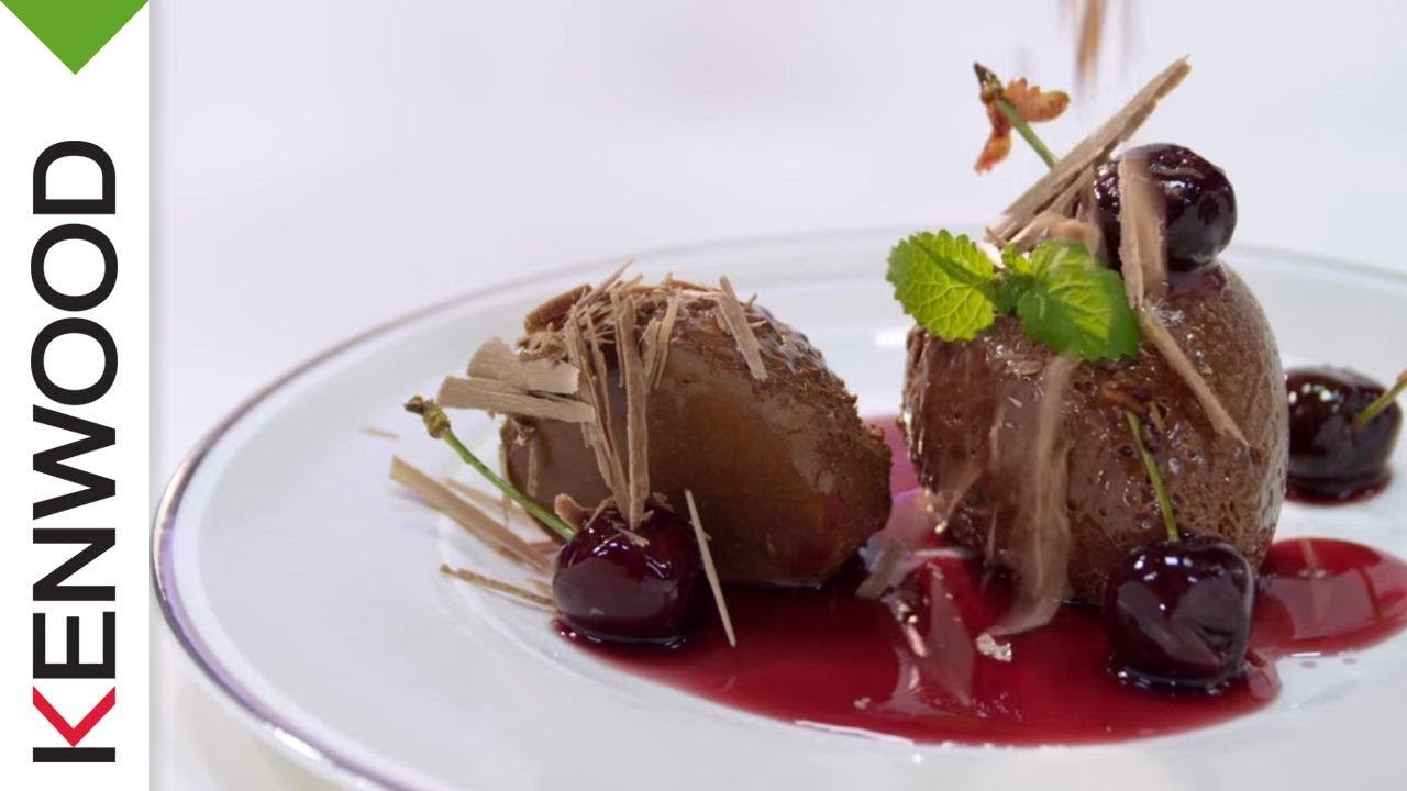 mousse au chocolat von johann lafer rezept kenwood cooking chef youtube. Black Bedroom Furniture Sets. Home Design Ideas