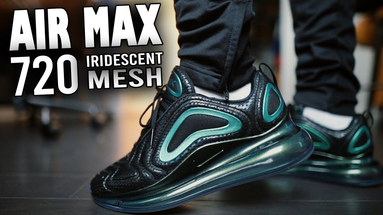 the latest b8651 29715 Nike Air Max 720 Iridescent Retro Future Review And On Feet