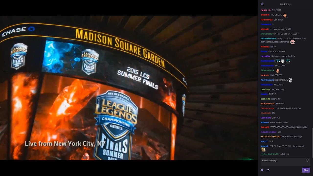 8 23 2015 Clg Vs Tsm Madison Square Garden With Chat
