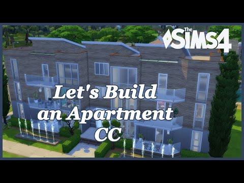The Sims 4 - Let's build an Apartment CC (Part 1)
