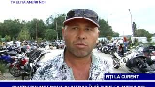 BIKERII DIN MOLDOVA  ȘI-AU DAT ÎNTÎLNIRE LA ANENII NOI