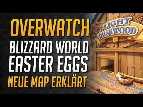 BLIZZARDWORLD EASTER EGGS & REFERENZEN | Umfangreiche Map Tour mit Erklärungen ★ Overwatch Deutsch