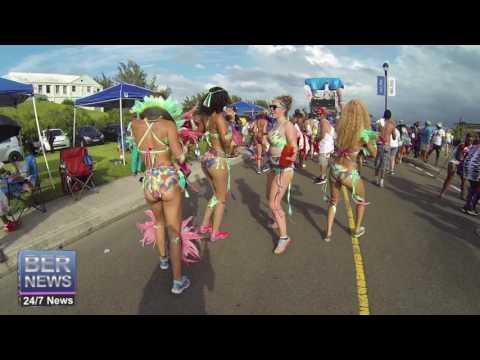 Parade Of Bands Bermuda Heroes Weekend, June 18 2016