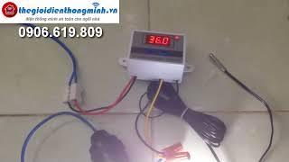 Bộ điều khiển nhiệt độ và độ ẩm máy ấp trứng tưới cây tự động giá rẻ