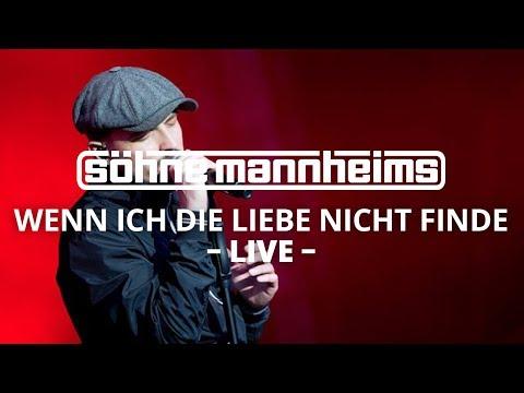 Söhne Mannheims - Wenn ich die Liebe nicht finde // EVOLUZION Live [Live]