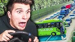 Flixbus verursacht MEGA-STAU auf der Autobahn ✪ FLIXBUS Fernbus Simulator