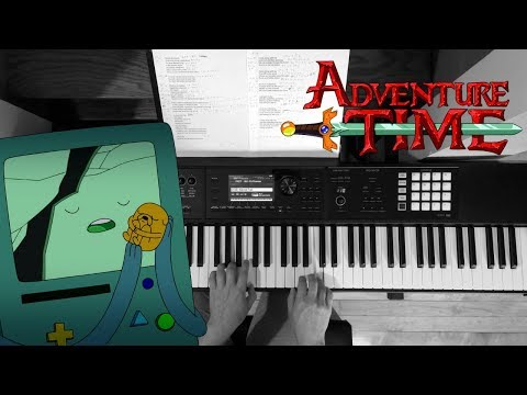 Time Adventure - Adventure Time (Finale) | Piano Cover + Strings