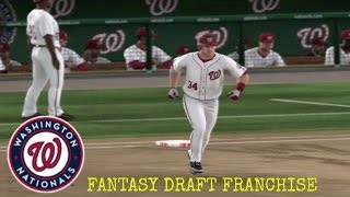 Washington Nationals (Fantasy Draft) Franchise vs Chicago Cubs (MLB 13 The Show)