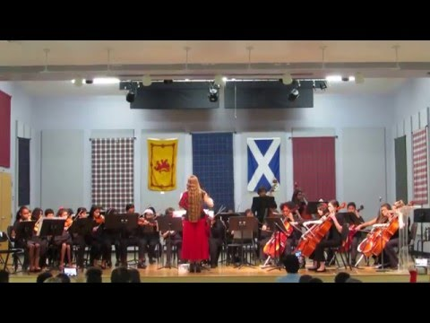 Dunedin Highland Middle School - 2015 Winter String Concert - Classic Christmas Medley