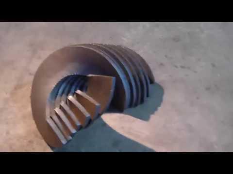 Витки (сектора) спиралей шнеков