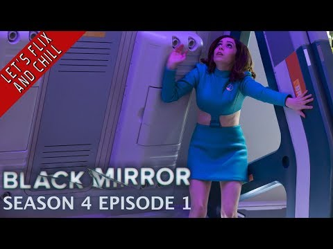 Black Mirror  USS Callister  Season 4 Episode 1  Let's Flix And Chill Stewart and Nathan
