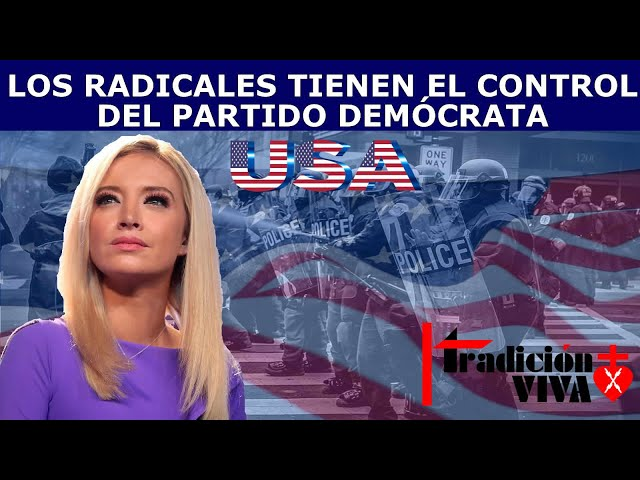 RADICALES CONTROLAN PARTIDO DEMOCRATA