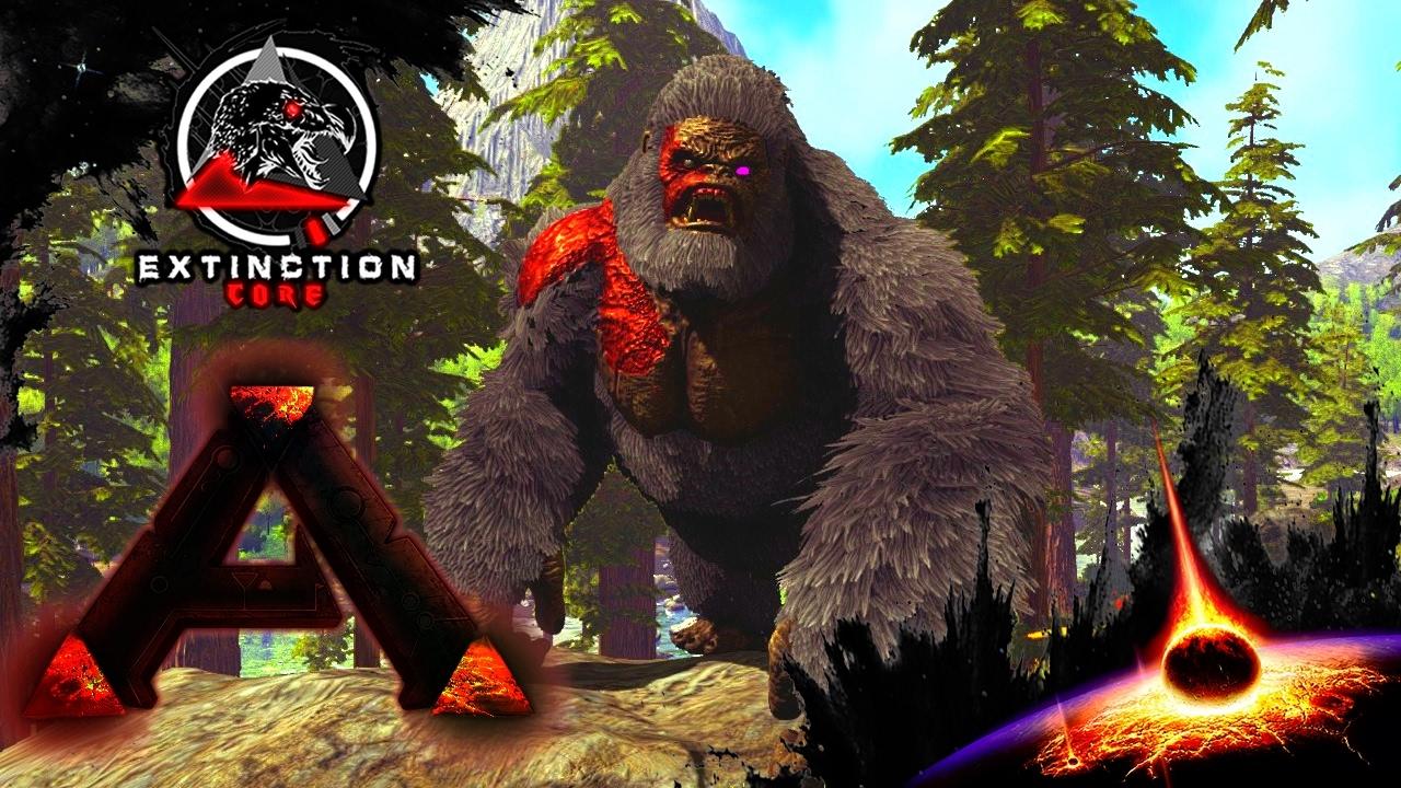 CB's MEGAPITHECUS! :: Ep 41 :: MODDED ARK: Extinction Core ...