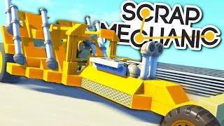 ГОНКИ НА ПРИДУМАННЫХ МОТОЦИКЛАХ! (Scrap Mechanic)