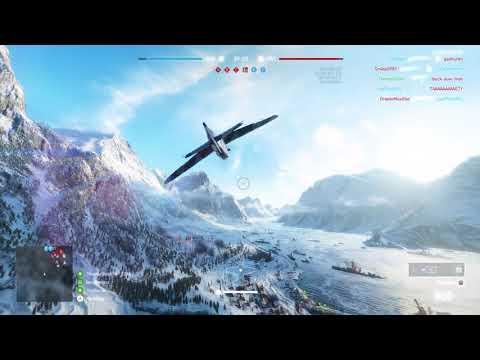 Battlefield V Fighter Plane Gameplay | Bf 109 | (Battlefield V - Closed Alpha)