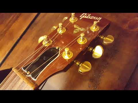 GIBSON MONTANA CUSTOM LINE CL-30 DELUXE ACOUSTIC GUITAR UP CLOSE VIDEO REVIEW CL30