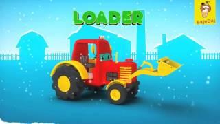 Bajki Dla Dzieci -Maszyny Rolnicze-Nauka Angielskiego