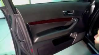 Разбираем Обивку Двери Аudi A6 (C6 2009г)