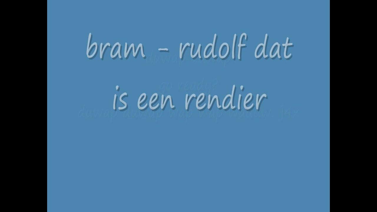 Bram Rudolf Dat Is Een Rendier Songtekstenlyrics Junior