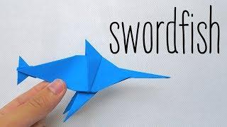 ORIGAMI SWORDFISH (Anh Dao)