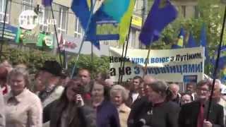 Марш протест проти високим тарифам(FIT.IF.UA повідомляє, що 3 травня в Івано-Франківську з ініціативи обласної організації ВО