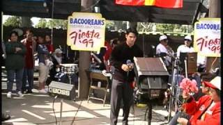 Diether Ocampo @ Bacooreans Fiesta @ San Leandro Marina Park 1999 part 2