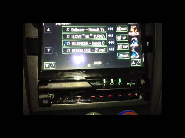 kenwood kvt512  youtube