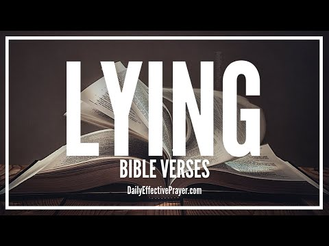 Bible Verses On Lying | Scriptures Against Lying (Audio Bible)
