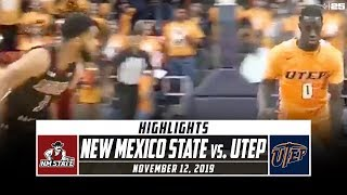 New Mexico State vs. UTEP Basketball Highlights (2019-20) | Stadium