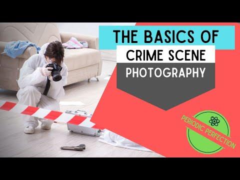 Basics Of Crime Scene Photography