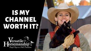 🔴 IS MY CHANNEL WORTH IT? (live-stream) // Versatile Horsemanship
