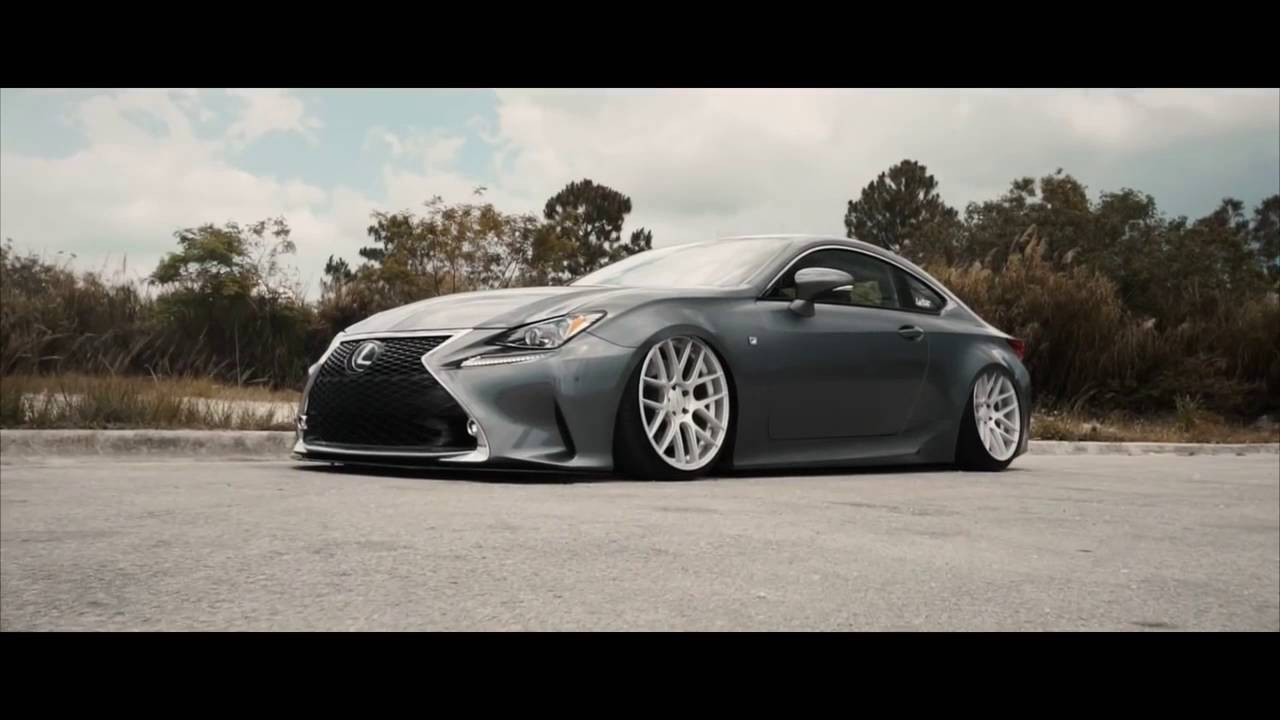 Lexus RC 350 F Sport on Velgen VMB7 Wheels - YouTube