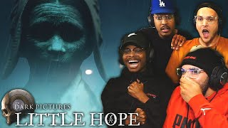 Tha Boiz + Decision Based Horror Game = A LOUD, ANGRY SERIES!! | Little Hope - PART 1 (Multiplayer)